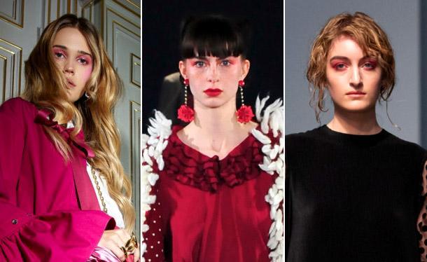 Модные розовые тени в 2019 году