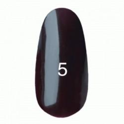 Гель лак № 5 (коричнево-малиновый) 8 мл.