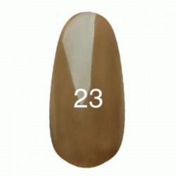Гель лак № 23 (оливковый коричневый, эмаль) 8 мл.