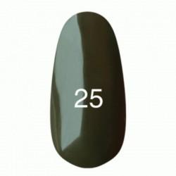 Гель лак № 25 (темно-оливковый) 8 мл.