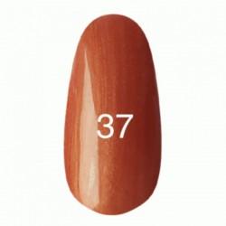 Гель лак № 37 (рыжий с перламутром) 8 мл.