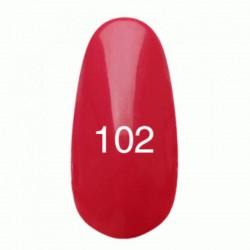 Гель лак № 102 (светло-малиновый) 8 мл.