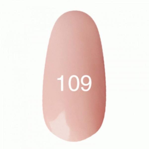 Гель лак № 109 (светло-розовый) 8 мл.