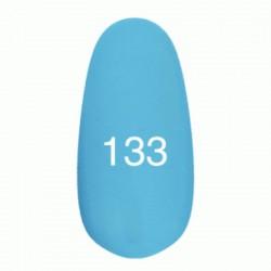 Гель лак № 133 (небесно-голубой) 8 мл.