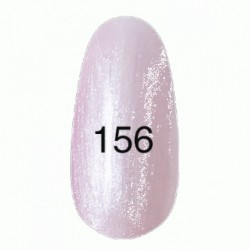 Гель лак № 156 (розовый жемчужный) 8 мл.