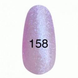 Гель лак № 158 (розово-сиреневый с перламутром) 8 мл.