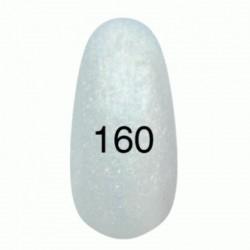 Гель лак № 160 (жемчужный с золотым перламутром) 8 мл.