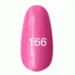 Гель лак № 166 (ярко-розовый с перламутром) 8 мл.