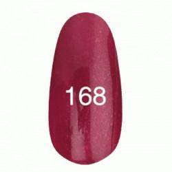 Гель лак № 168 (малиновый с перламутром) 8 мл.