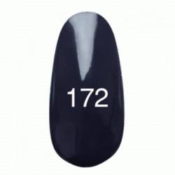 Гель лак № 172 (черно-синий эмалевый) 8 мл.