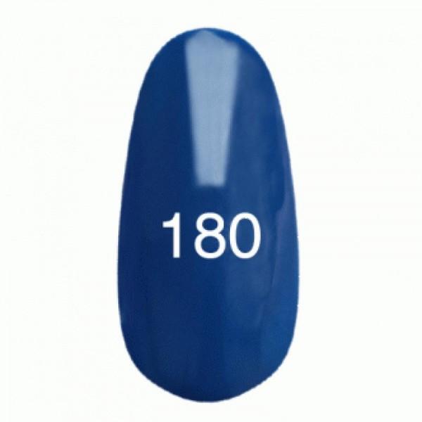 Гель лак № 180 (ультрамариновый, эмаль) 8 мл.