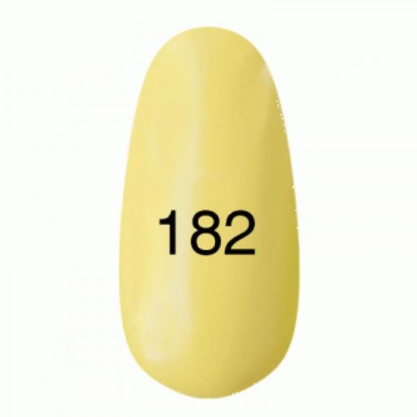 Гель лак № 182 (лимонный, эмаль) 8 мл.