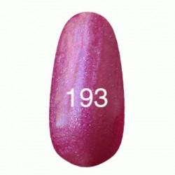 Гель лак № 193 (темно-малиновый с розовым перламутром) 8 мл.