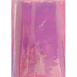 """Фольга эффект """"битое стекло"""" цвет розовый 30x5 см 0312503"""