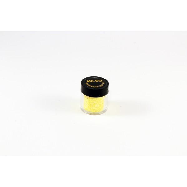 Глиттер, пайетки, для ногтей Mileo жёлтый 890074
