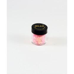 Глиттер, пайетки, для ногтей Mileo ярко розовый 66533268
