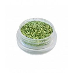 Глиттер (Блестки) в баночке зеленый 5600445