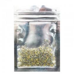 Бульонки хрустальные болотно-золотые MIX 944762 22 гр.