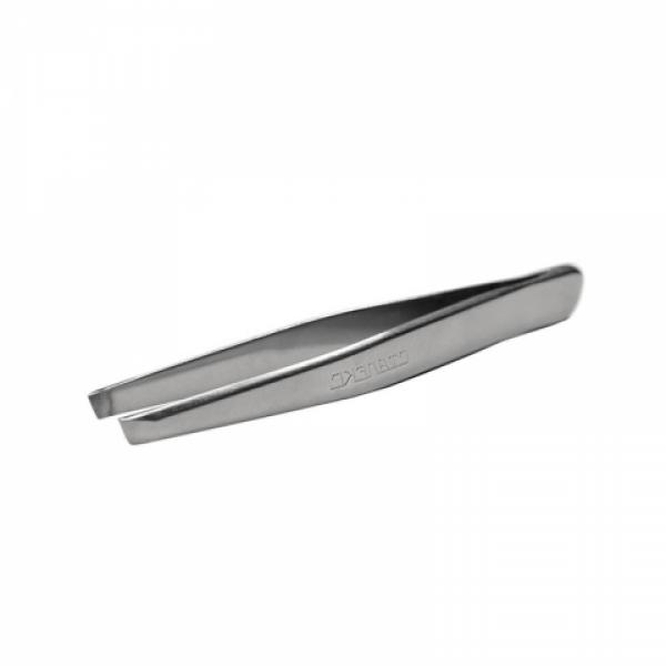 Сталекс Пинцет для бровей скошенный T4-10-02 (П-07)