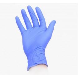 Перчатки одноразовые, 100 шт. Нитриловые/синие