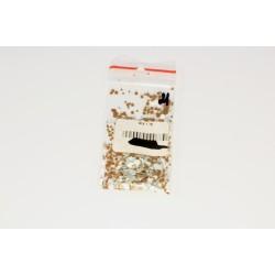 Камифубуки в пакетике золотой - белый - серый  1 гр. 9095833