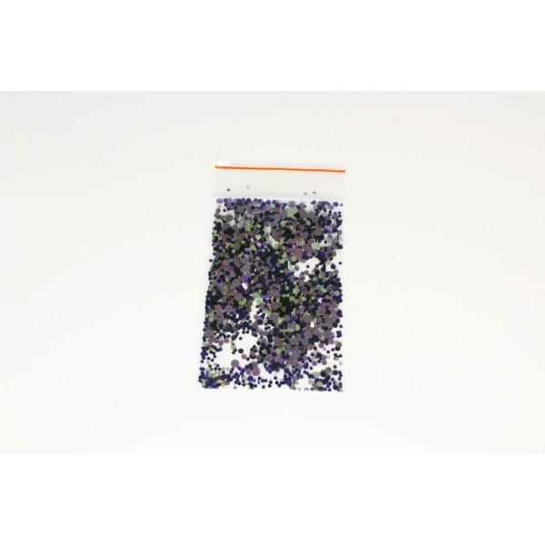 Камифубуки в пакетике микс фиолетовый-бежевый-бирюзовый 1 гр. 7649566