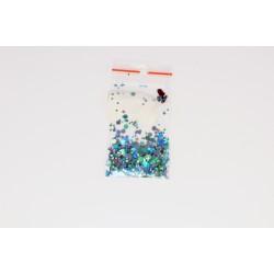 Камифубуки в пакетике бирюзовый-хамелеон- серебро-хамелеон 1 гр. 53476324
