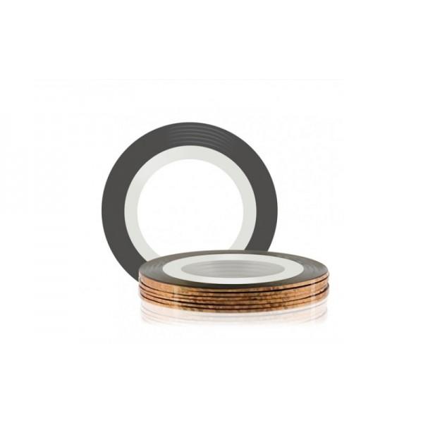 Лента-скотч для ногтей, цвет бронза, 1 мм 569823
