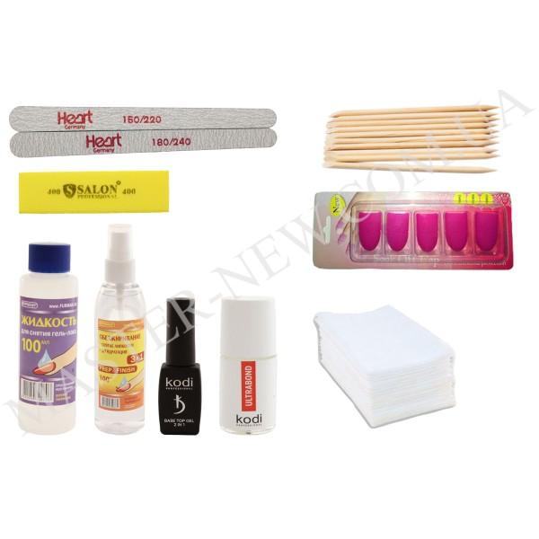 Набор Small-03 - Стартовый набор для покрытия гель-лаком без лампы (маленький)