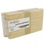 Шпатели деревянные одноразовые (100 шт)