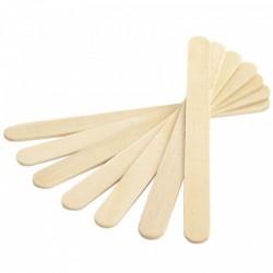 Шпатели деревянные одноразовые узкие (100 шт)