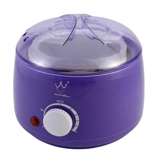 Воскоплав баночный Konsung Beauty, 400 мл (фиолетовый)