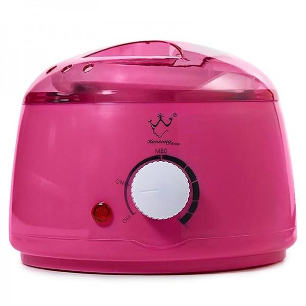Воскоплав баночный Konsung Beauty, 400 мл (розовый)