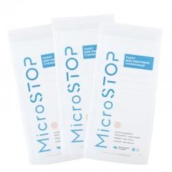 Крафт-пакеты для воздушной стерилизации MicroSTOP 100x200 мм, белые (110 шт.)