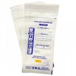 Крафт-пакеты для паровой и воздушной стерилизации ProSteril 100x200 мм, белые (100 шт.)
