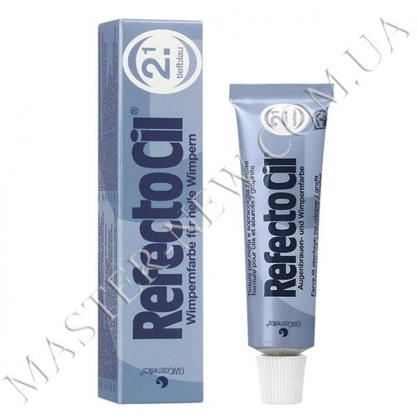 Краска для бровей и ресниц RefectoCil. №2.2 Deep Blue