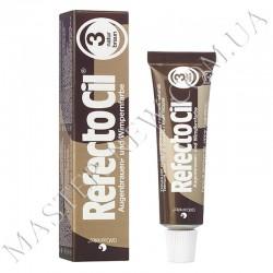 Краска для бровей и ресниц RefectoCil. №3 Natural Brown