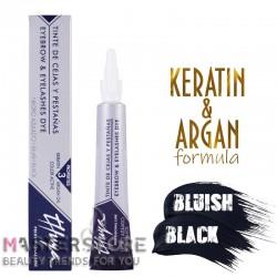 Витаминизированная краска для бровей и ресниц Thuya (Туя) Bluish Black (14 мл)