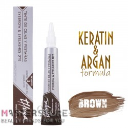 Витаминизированная краска для бровей и ресниц Thuya (Туя) Brown (14 мл)