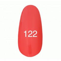 Гель лак № 122 (глубокий коралловый) 8 мл.