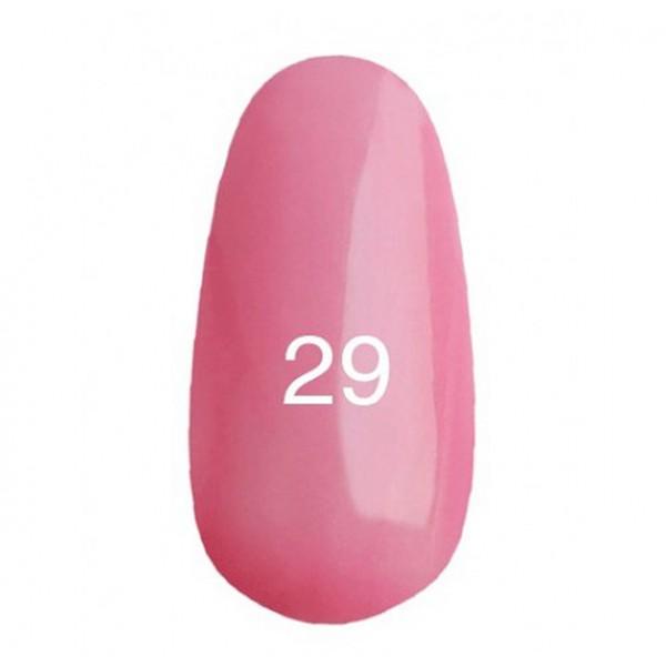 Гель лак № 29 (светло-розовый, с перламутром) 8 мл.