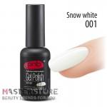 Гель-лак PNB 001 Snow White, 8 мл