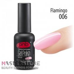 Гель-лак PNB 006 Flamingo, 8 мл.