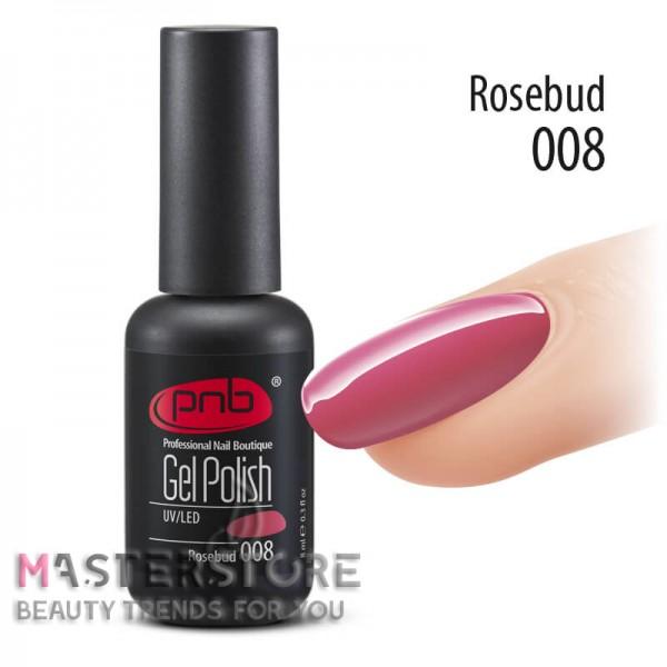 Гель-лак PNB 008 Rosebud, 8 мл.