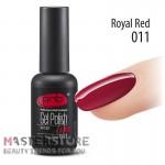 Гель-лак PNB 011 Royal Red, 8 мл.