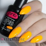 Гель-лак PNB 033 Hot Orange, 8 мл.