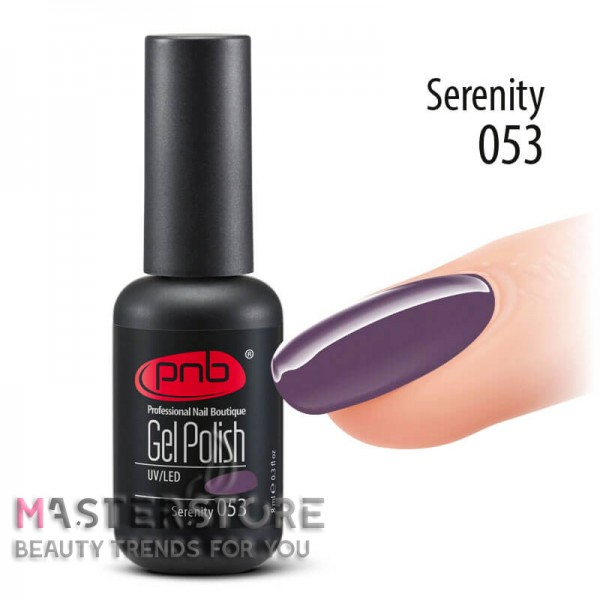 Гель-лак PNB 053 Serenity, 8 мл
