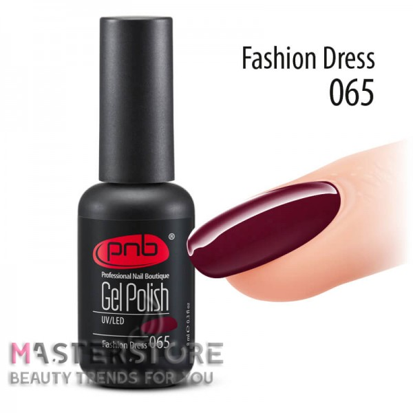 Гель-лак PNB 065 Fashion Dress, 8 мл