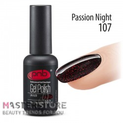 Гель-лак PNB 107 Passion Night, 8 мл