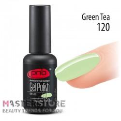 Гель-лак PNB 120 Green Tea, 8 мл